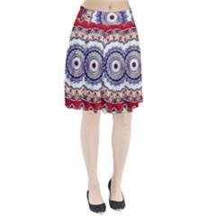 Romantic Dreams Mandala Pleated Skirt