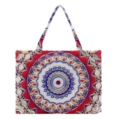 Romantic Dreams Mandala Medium Tote Bag
