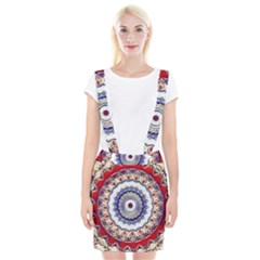 Romantic Dreams Mandala Braces Suspender Skirt