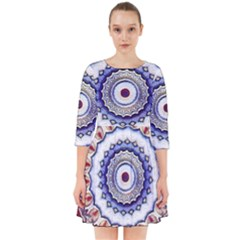 Romantic Dreams Mandala Smock Dress
