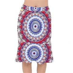 Romantic Dreams Mandala Mermaid Skirt