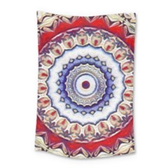 Romantic Dreams Mandala Small Tapestry