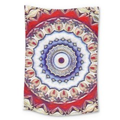 Romantic Dreams Mandala Large Tapestry