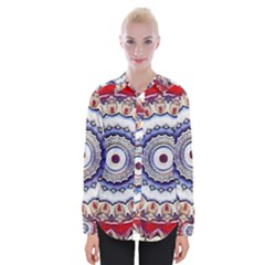 Romantic Dreams Mandala Womens Long Sleeve Shirt