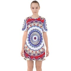 Romantic Dreams Mandala Mini Dress