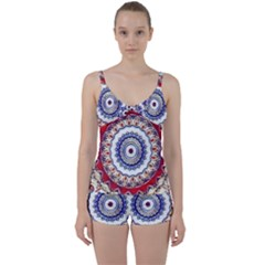 Romantic Dreams Mandala Tie Front Two Piece Tankini