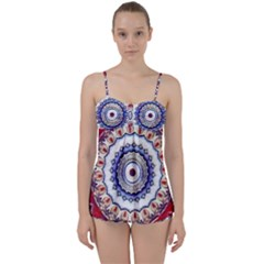 Romantic Dreams Mandala Babydoll Tankini Set