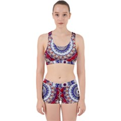 Romantic Dreams Mandala Work It Out Sports Bra Set