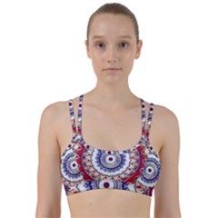 Romantic Dreams Mandala Line Them Up Sports Bra