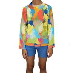 Summer Feeling Splash Kids  Long Sleeve Swimwear