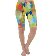 Summer Feeling Splash Cropped Leggings