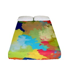 Summer Feeling Splash Fitted Sheet (full/ Double Size)