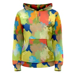 Summer Feeling Splash Women s Pullover Hoodie