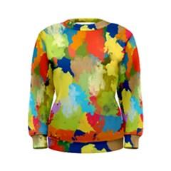 Summer Feeling Splash Women s Sweatshirt