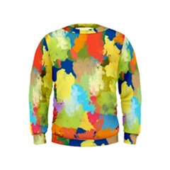 Summer Feeling Splash Kids  Sweatshirt