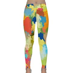Summer Feeling Splash Classic Yoga Leggings