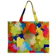 Summer Feeling Splash Zipper Mini Tote Bag