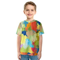 Summer Feeling Splash Kids  Sport Mesh Tee