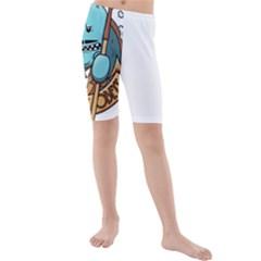Meeseeks Kids  Mid Length Swim Shorts
