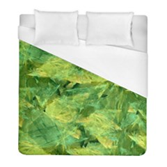 Green Springtime Leafs Duvet Cover (full/ Double Size)