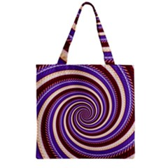Woven Spiral Grocery Tote Bag