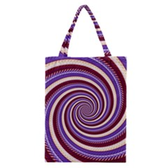 Woven Spiral Classic Tote Bag