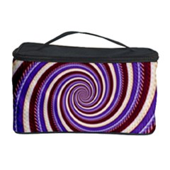 Woven Spiral Cosmetic Storage Case