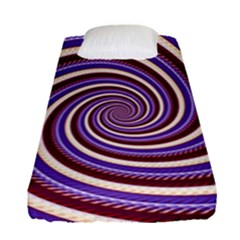 Woven Spiral Fitted Sheet (single Size)