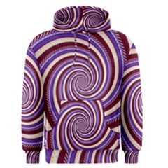 Woven Spiral Men s Pullover Hoodie
