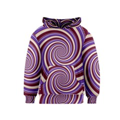 Woven Spiral Kids  Pullover Hoodie