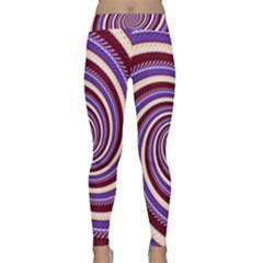Woven Spiral Classic Yoga Leggings