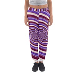Woven Spiral Women s Jogger Sweatpants
