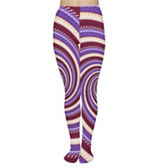 Woven Spiral Women s Tights