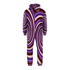 Woven Spiral Hooded Jumpsuit (kids)