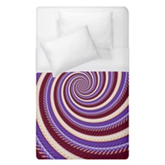 Woven Spiral Duvet Cover (single Size)
