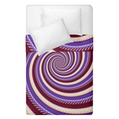 Woven Spiral Duvet Cover Double Side (single Size)