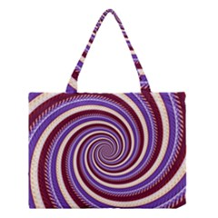 Woven Spiral Medium Tote Bag