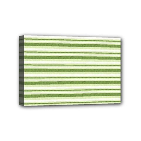 Spring Stripes Mini Canvas 6  X 4