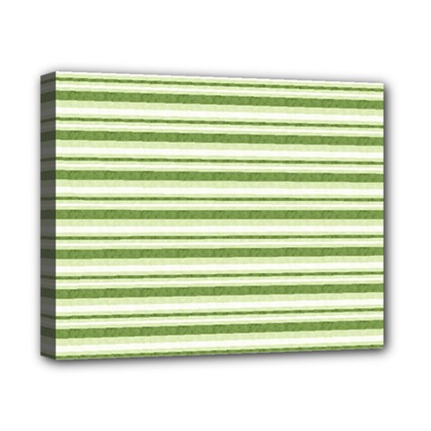 Spring Stripes Canvas 10  X 8