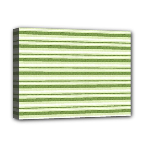 Spring Stripes Deluxe Canvas 16  X 12