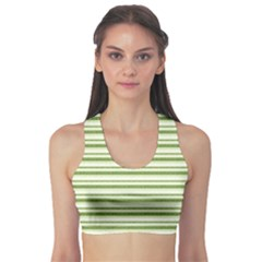 Spring Stripes Sports Bra