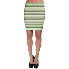 Spring Stripes Bodycon Skirt