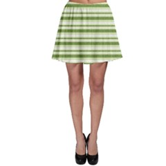 Spring Stripes Skater Skirt