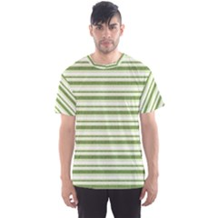 Spring Stripes Men s Sports Mesh Tee
