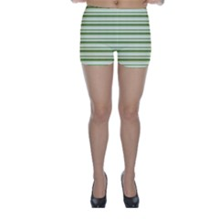 Spring Stripes Skinny Shorts