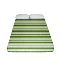 Spring Stripes Fitted Sheet (full/ Double Size)