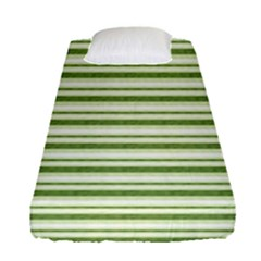 Spring Stripes Fitted Sheet (single Size)