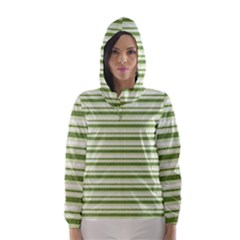 Spring Stripes Hooded Wind Breaker (women)
