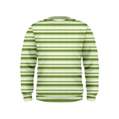 Spring Stripes Kids  Sweatshirt