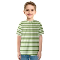 Spring Stripes Kids  Sport Mesh Tee